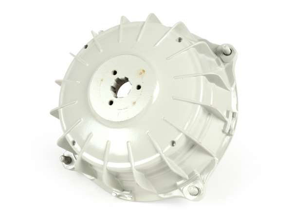 Bremstrommel hinten -SIL- Lambretta LI (Serie 3), LIS, SX, TV (Serie 3), DL, GP - unlackiert