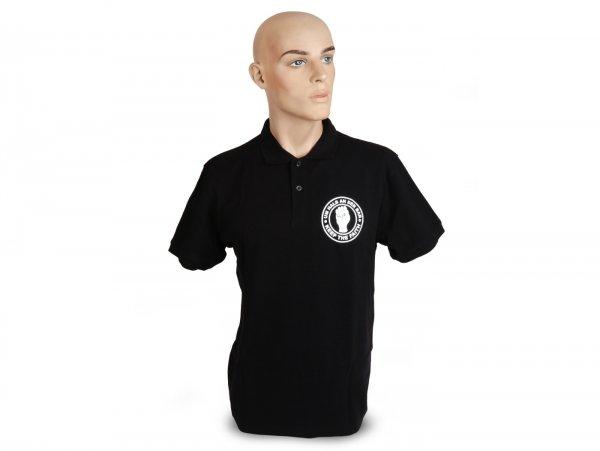 Polo-shirt, Herren -Um halb an der Bar- XL