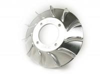Ventola -MMW alluminio CNC Vespatronic- Vespa  PX, Cosa, Rally, Sprint, GT, GTR, Super