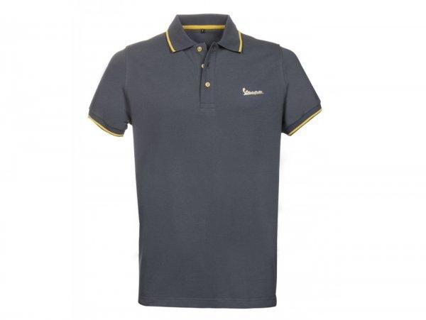 "Polo-shirt, Herren -VESPA ""Graphic"", grau- S"