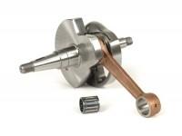 Crankshaft -BGM ORIGINAL Standard (rotary valve) 48mm stroke, 105mm conrod-  Vespa P80X, PX80