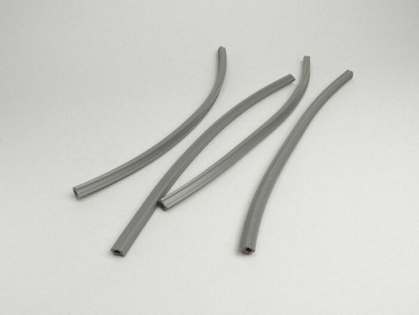 Floor board rubbers -LAMBRETTA- Lambretta LI (Series 3), LIS, SX, TV (Series 3) - grey