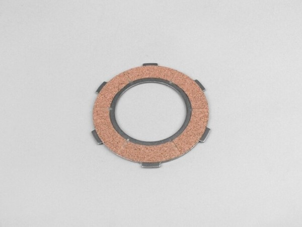 Clutch friction plate -PIAGGIO Vespa type 6 springs (PX80, PX125, PX150)- 3 friction plates - inner