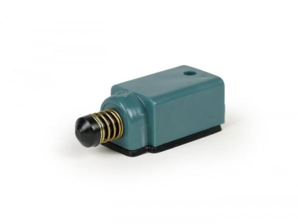 Bremslichtschalter -OEM QUALITÄT- Vespa PX80, PX125, PX150, PX200 (Modelle mit Blinker), PK50 XL, PK125 XL, T5 125cc - Schliesser (Blau/Rot)