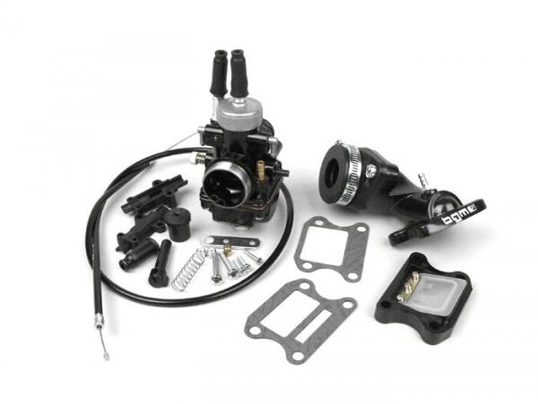 Carburettor kit -BGM Pro 19mm Racing- Peugeot 50 cc 2-stroke (vertical) - Peugeot, Honda - HONDA BALI 50, DIO, SFX, SGX SKY, SH 50, SHADOW 50, X8RS, X8RX, SXR, PEUGEOT BUXY 50, ELYSEO 50, ELYSTAR 50, JETFORCE 50 TSDI, LOOXOR 50 TSDI, SPEEDAKE, SPEEDF