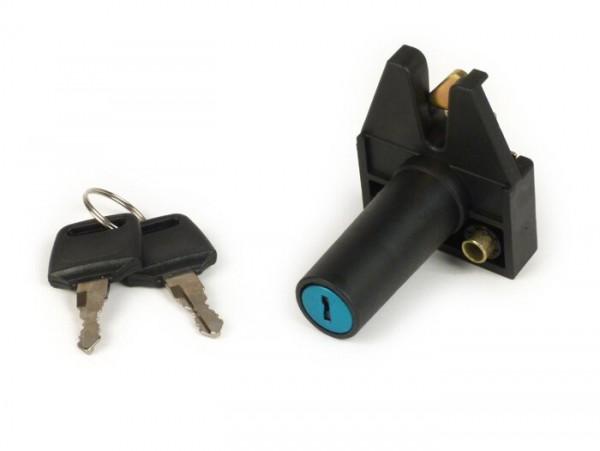 Seat lock -PIAGGIO- Vespa Cosa FL 125 (VNR2T0001001-), Cosa FL 200 (VSR1T0004755-), Cosa FL 200 Elestart (VSR1T3016725-)