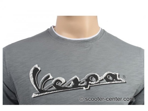 T-Shirt -VESPA Original- grau - XXL