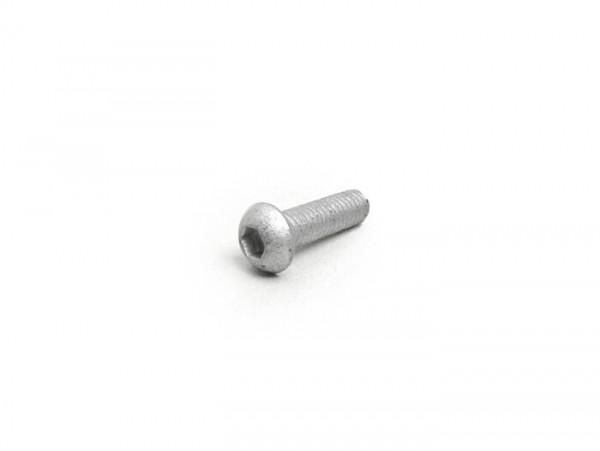 Vite vite con testa con esagono incassato -testa piatta -ISO 7380- M6 x 20mm (10.9) - (usato per disco freno Piaggio, Gilera)