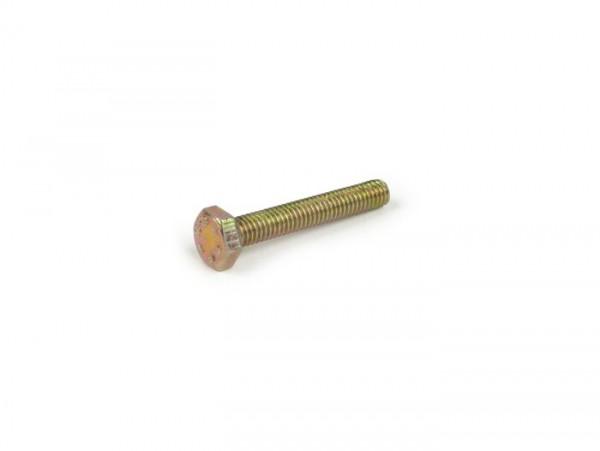 Schraube -DIN 933- M4 x 25mm (verwendet für Bremslichtschalter Vespa PK, PX, PV, ET3)