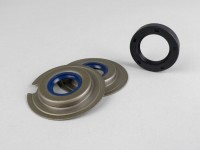 Oil seal set engine -CORTECO- Vespa Wideframe VM, VN, VL, VB, GS150 / GS3 (VS1T - VS5T, VDTS), VD1, VD2, Largeframe VNA1, VNA2 (VNA2M ->091392), VBA (VBA1M ->313583)