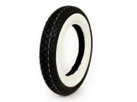 Tyre -KENDA K333 white wall- 3.50 - 10 inch TT 51J