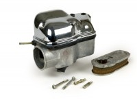 Carburator box incl. oil pump and chromed cover -PIAGGIO- Vespa PX200 EFL (since 1984)