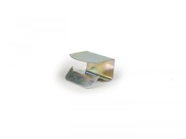 Seat cover clip -PIAGGIO- 4mm - Vespa V50, V90, PV125, ET3, PX, PK, Rally, Sprint, TS, GT, GTR