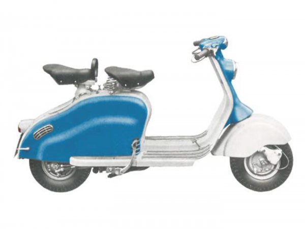 Lambretta (Innocenti) LD 150 (1954-56)