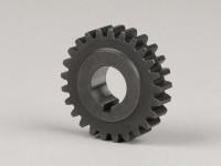 Ingranaggio motore -DRT Gear Flame 3.00->2.88- Vespa V50, PV125, ET3. PK50, PK80, PK125 - 25 denti