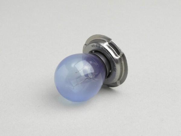 Lampadina -P26s- 12V 15W - blu effetto xenon