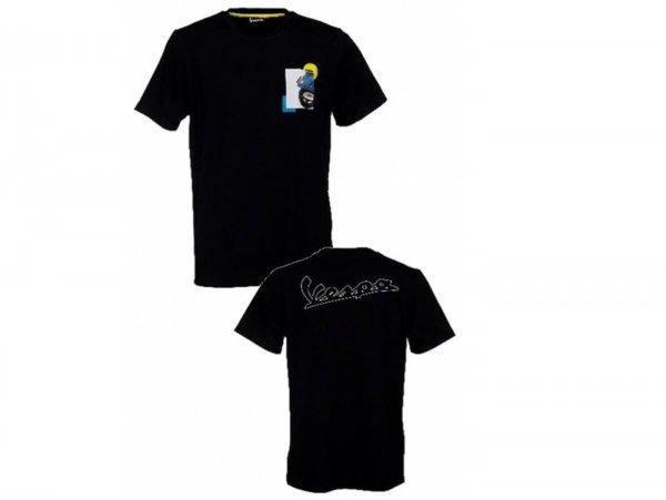 "T-Shirt -VESPA ""Heritage Collection""- schwarz - XXL"
