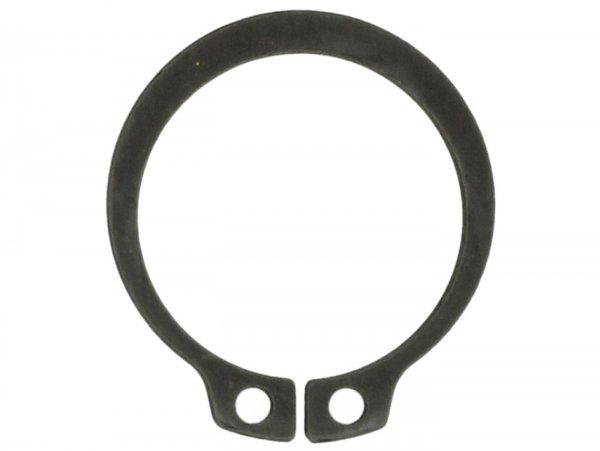 Seegerring -WELLE DIN471- Ø=22mm - Fixierung Bremsankerplatte auf Vorderradachse, Vespa PK50 XL, PK50 XL2, PK125 XL, PX80, PX125, PX150, PX200  (alle PX ab 1984), Cosa125, Cosa 200, T5 125cc