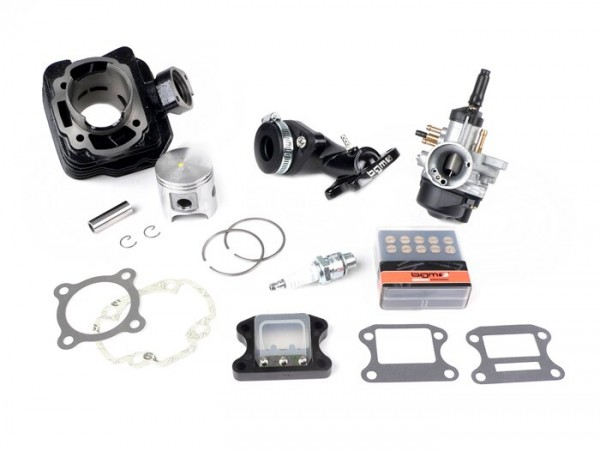 Tuningkit -DR 70 ccm- Peugeot AC (vertikal) - SPEEDFIGHT1 50 cc AC, SPEEDFIGHT2 50 cc AC, TKR50, TREKKER50, VIVACITY50, ELYSEO50, SQUAB50, SV50, ZENITH50, BUXY50, ELYSTAR50, LOOXOR50, SPEEDAKE  - Sport-Set