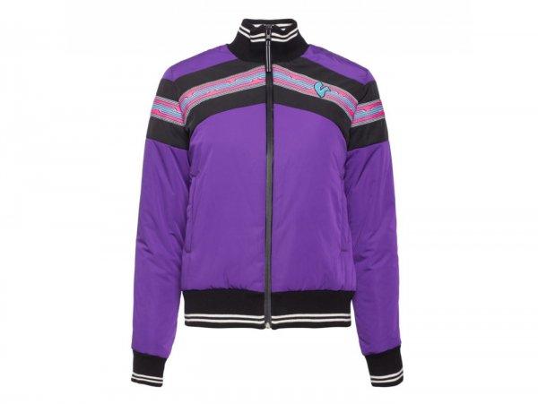 "Jacket -VESPA Woman ""V-Stripes""- purple  XXL"