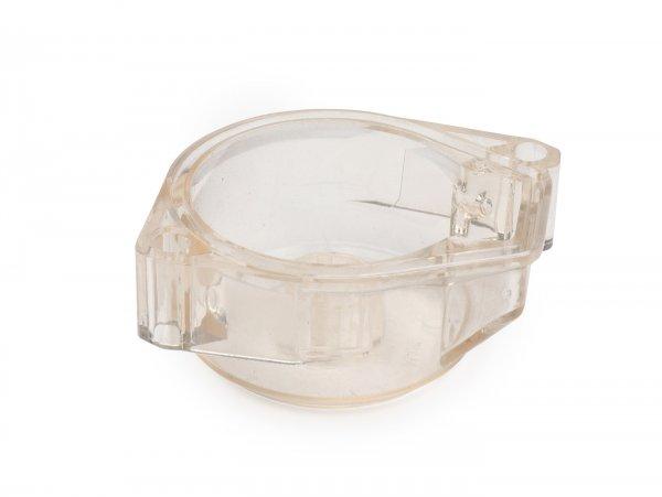 Cuba del flotador -MALOSSI- SHA12, SHA13 SHA14- transparente - Piaggio Ciao, SI