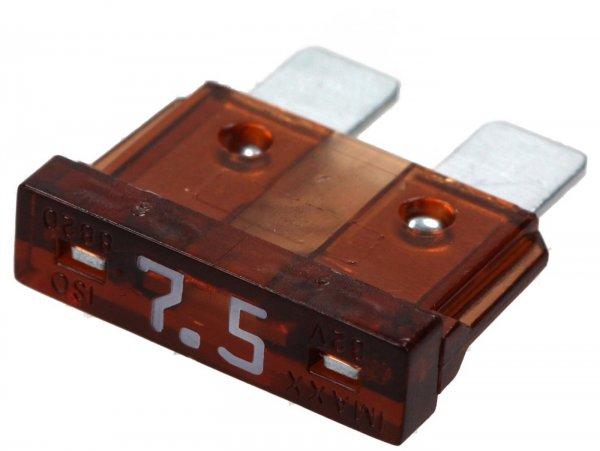 Fuse -FLAT-FUSE (Type ATO, MIDI, FK2, TF) -7,5A - brown