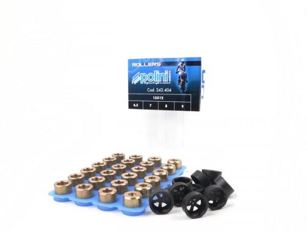 Gewichteset -POLINI Premium Qualität 15x12mm- 6,5-7,0-8,0-9,0g