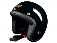 Helmet -ORIGINE Primo- open face black - L (59-60cm)