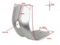 Plancher + tablier -QUALITÉ OEM- Vespa V50 (V5A1T200000-), V50 L (V5A1T40000-), V50 S (V5SA1T31000-), V90 (V9A1T28001-), PV125, ET3