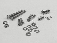 Screw set handle bar -MB DEVELOPMENTS-Lambretta LI (Series 2), TV (Series 2) - stainless steel
