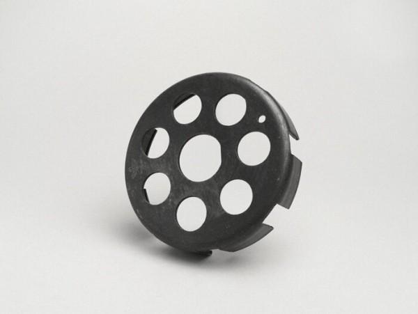 Carcasa embrague -FA ITALIA tipo 7 muelles, Ø ext.=115mm, Ø int.=108- Vespa Rally 180 (VSD1T0014741-), Rally 200 (VSE1T), PX 200 (VSX1T), T5 125cc (VNX5T), Cosa1 125 (VNR1T), Cosa1 150 (VLR1T), Cosa1 200 (VSR1T)