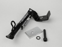 Side stand -BUZZETTI- Aprilia Sport City 50-125 cc (since yoc 2008), Piaggio Tyhpoon 50 (since yoc 2011) - black