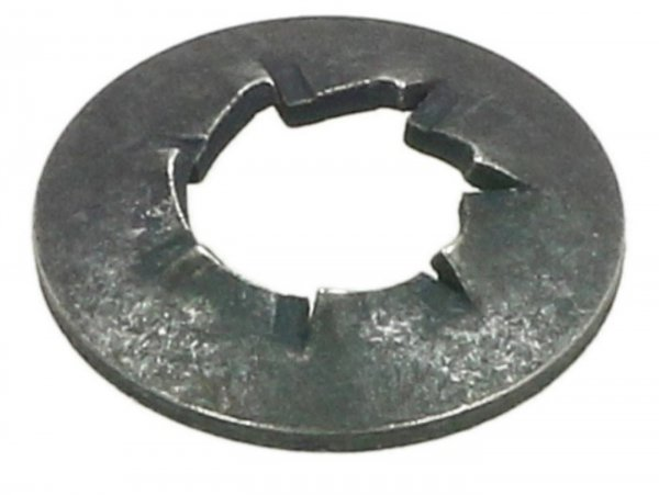Serrated lock washer -DIN 6798- M5 - interior teeth