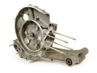 Engine casing -LML reed valve intake, Elestart, with autolube- Vespa PX125, PX150