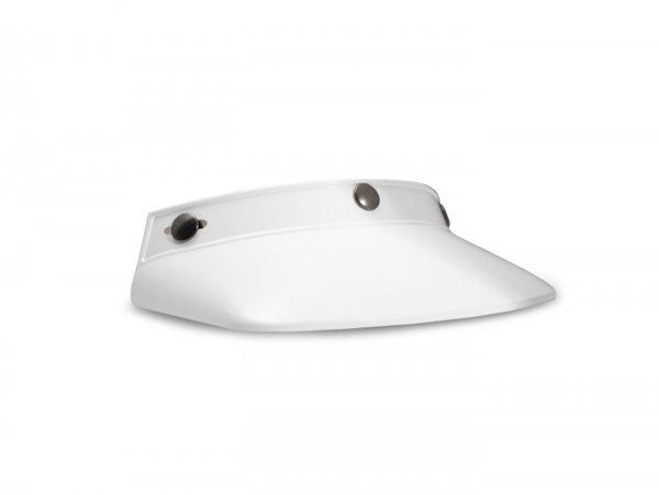 Sun visor for jet hemet -DMD Vintage Peak Off - white