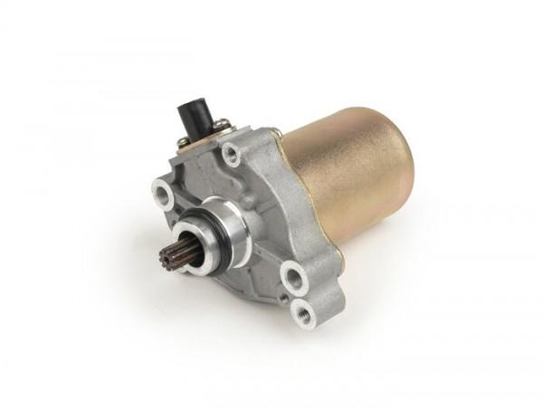 Motor de arranque -PIAGGIO- Gilera Runner FXR 180 (ZAPM08), Piaggio Hexagon LXT 180 (ZAPM06), Fly 100 (LBMM531), Free 100 (ZAPM291), Zip 100 (LBMM252), Aprilia Scarabeo 100 (ZD4SA, ZD4VA0, ZD4VAA, ZD4VAC), Derbi Atlantis 100 (VTHAT1B1A)