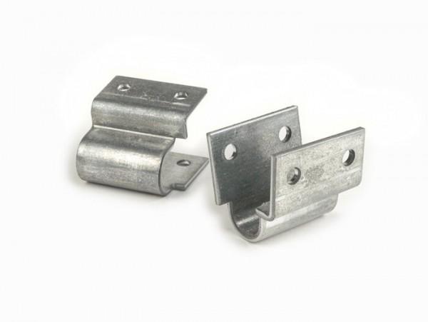 Kit soportes caballete central -LAMBRETTA- J50, J100, J125, J50 DeLuxe, J50 Special