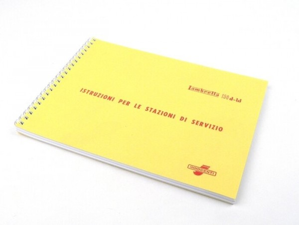 Workshop manual -LAMBRETTA- 125-150 D, LD (1956)