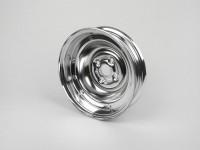 Cerchio ruota -VESPA 2.10-10 pollici, acciaio - Vespa (tipo V50 10 pollici - 4 fori all''interno) - cromato
