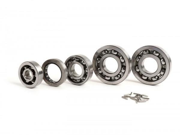 Kugellagersatz Motor -SCOOTER CENTER- Vespa Largeframe GT125 (VNL2T 30001-30742, VNL2T 34501-60900), Sprint150 (VLB1T 01001-035095), Sprint150 (VLB1T 38601-73899)