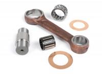 Conrod -MAZZUCHELLI- Piaggio Vespa GS160 / GS4 (VSB1T), SS180 (VSC1T) - 110mm, gudgeon pin Ø=16mm