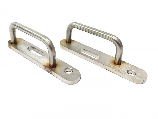 Luggage loop -TD-Customs- Vespa PX, Sprint, Rally, T5 125cc, PK, V50, PV125, ET3, VNB  - stainless steel