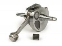 Crankshaft -MAZZUCCHELLI Racing (rotary valve) 60mm stroke PX-flywheel taper- Vespa Sprint150 (VLB1T), GL150 (VLA1T), GT125 (VNL2T), GTR125 (VNL2T), VNB, VBA, VBB ,T4, Super