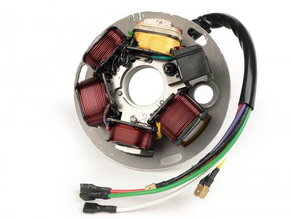 Encendido -SCEED24 soporte bobinas completo HP V2.0- Vespa PX (-1984) - 7 cables
