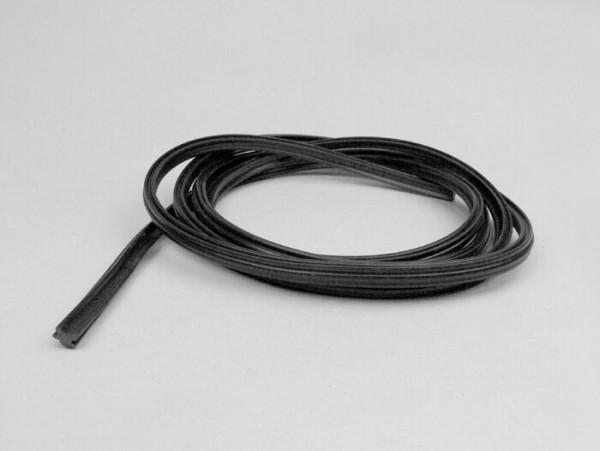 Footboard stripes rubber -OEM QUALITY W=9mm- V50, PV125, ET3 - 2780mm