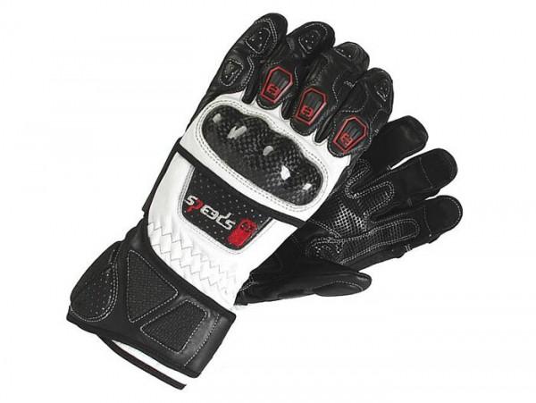 Handschuhe -SPEEDS Protect - schwarz/weiss - S