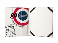 "iPad/Tablet PC cover -VESPA, 20x24x1.8cm- ""Go Vespa - Low centre of gravity"""