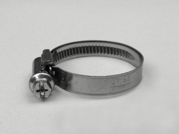 Abrazadera de manguera -UNIVERSAL- 25-40mm - anchura cinta = 9mm