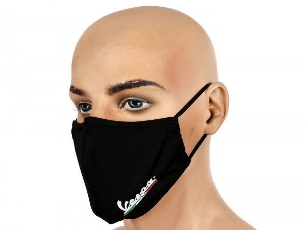 Masque (protection bucco-nasale) -VESPA- noir