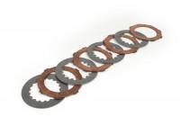 Clutch friction plates -ADIGE Vespa Cosa2- 4 clutch friction plates (incl. steel plates)